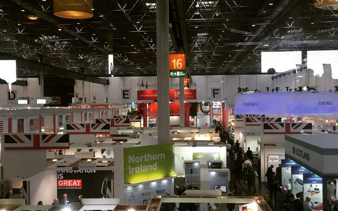 OTMSR at the 2015 MEDICA Trade Fair in Dusseldorf, Germany