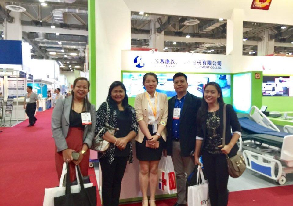 OTMSR visited 2016 Medical Fair Asia in Singapore